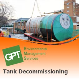 Oil & Chemical Tank Decommissioning
