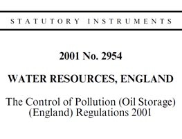 oil storage regs