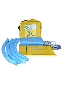 oil spill kit 50 litre grab bag