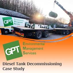 diesel tank decommissioning south wales