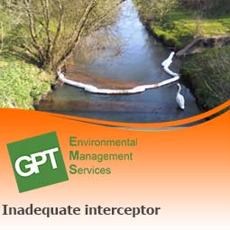 interceptor inadequate for risks on site
