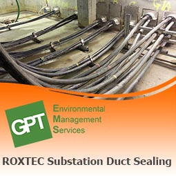 substation water ingress flood defence using roxtec