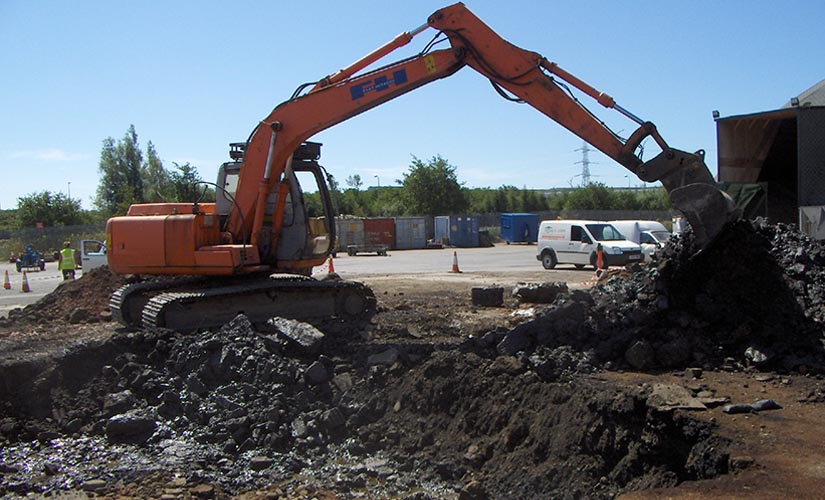 contaminated soil source removal project