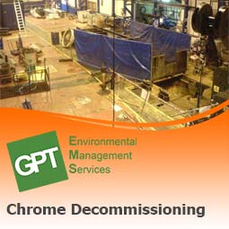 hexavalent chrome decommissioning