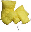 yellow chemical cushions