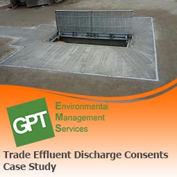 helping you to apply for a trade effluent discharge consent