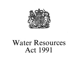 Water Resources Act