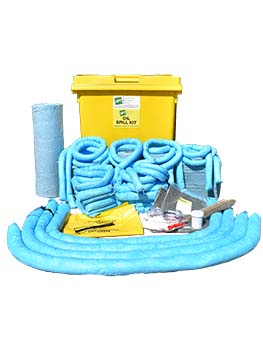 oil spill kit 1100 litre wheelie bin