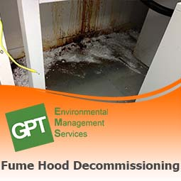 chemical fume hood cleaning