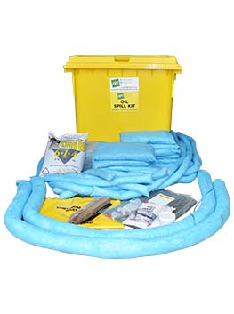 oil spill kit 660 litre wheelie bin