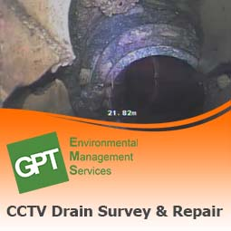 CCTV drain survey and drain repair